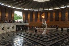 Hall av militär härlighet på Mamaev Kurgan volgograd Fotografering för Bildbyråer