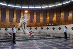 Hall av militär härlighet på Mamaev Kurgan volgograd Royaltyfria Bilder