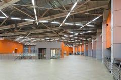 Hall av paviljongen MosExpo Royaltyfri Fotografi