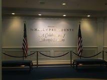 Hall av presidenter Arkivbild