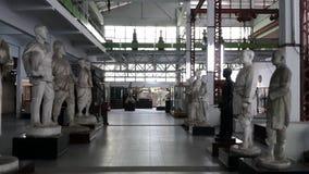 Hall av skulptur Fotografering för Bildbyråer
