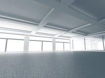 Hall Background interior moderno vazio Fotos de Stock