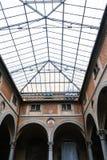 Hall of Basilica della Santissima Annunziata Stock Image