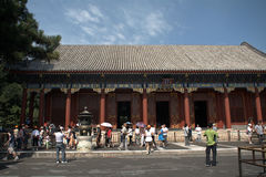 The Hall of Benevolence and Longevity at the Summer Palace, Beij Royalty Free Stock Image