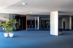 Hall bleu - Salao Azul - de sénat au congrès national brésilien - Brasilia, Distrito fédéral, Brésil photographie stock