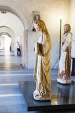 Hall castelvecchio kasztelu muzeum w Verona Obrazy Royalty Free
