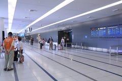 Hall central d'arrivée de Centrair d'aéroport international du Japon Image libre de droits