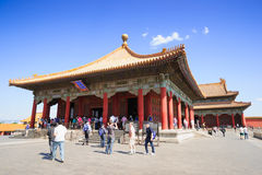 The Hall of Central Harmony in Forbidden City Stock Photography