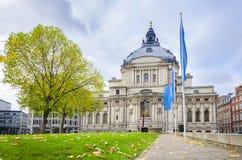 Hall central méthodiste sur la place de Westminster, Londres Photos libres de droits
