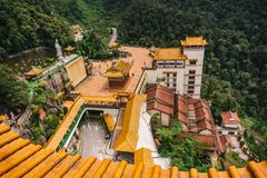Chin Swee Caves Temple Genting Highlands Malaysia. This is the hall of Chin Swee Caves Temple Genting Highlands Malaysia Stock Images