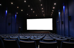 Hall of cinema Stock Photos