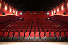 Hall Of a Cinema Royalty Free Stock Images