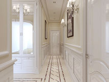 Hall classic style Royalty Free Stock Images