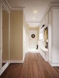 Hall classique et luxueux élégant Images stock