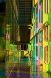 Hall coloré image libre de droits