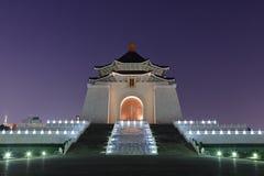 Hall commémoratif de Chiang Kai-shek images libres de droits