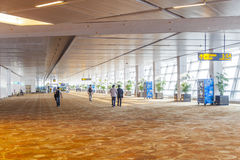 Hall d'aéroport à Delhi Images libres de droits