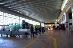 Hall d'aéroport de Barcelone Photos stock