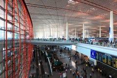 Hall d'aéroport de Bejing Image stock