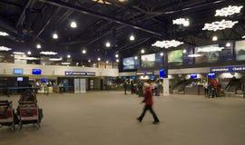 Hall d'aéroport de Kittila, Laponie, Finlande Images libres de droits