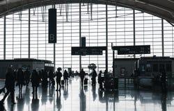 Hall d'aéroport international de Shanghai Pudong Photo libre de droits