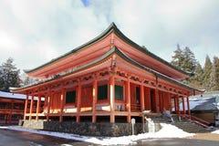Hall d'Amida de temple d'Enryaku Photos libres de droits