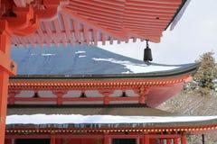 Hall d'Amida de temple d'Enryaku Image libre de droits