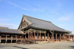Hall d'Amida de temple de Nishi Hongan Images stock