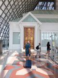 Hall d'arrivée à l'aéroport de Bangkok Photos libres de droits