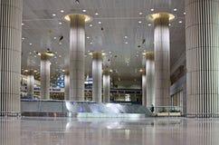 Hall d'arrivée de Ben Gurion Airport, Tel Aviv Image libre de droits