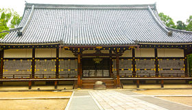 Hall d'or de temple de Ninnaji à Kyoto, Japon Image libre de droits