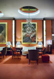 Hall d'entrée dans l'hôtel d'Amsterdam Photo stock