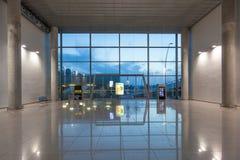 Hall d'entrée de l'aéroport dans Alicante Photo libre de droits