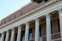 Hall d'entrée d'Université d'Harvard, Harvard, mA images libres de droits
