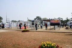 Hall d'exposition extérieur de photographie Photographie stock