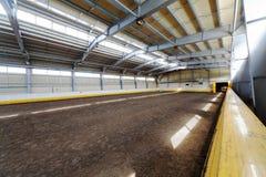 Hall d'intérieur d'équitation Photographie stock libre de droits