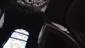 Hall de l'église arménienne banque de vidéos