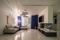 Hall dans le style moderne Photographie stock