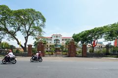 Hall de Ben Tre Province City Image stock