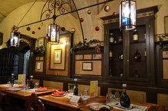 Hall de bière Image stock