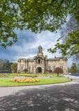 Hall de Cartwright, parc de listeuse, Bradford Image stock