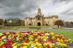 Hall de Cartwright, parc de listeuse, Bradford Image libre de droits