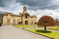 Hall de Cartwright, parc de listeuse, Bradford Photo stock