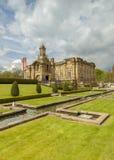 Hall de Cartwright, parc de listeuse, Bradford Images libres de droits