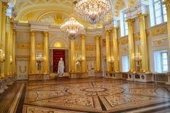Hall de Catherine dans Tsaritsino Image libre de droits