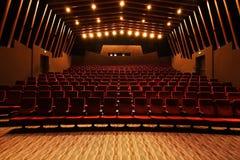 Hall de cinéma Image libre de droits