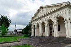 Hall de comté d'Ararat dans la ville régionale de secteur occidental d'Ararat Photo stock