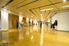 Hall de conférence/contact photo libre de droits