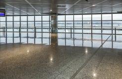 Hall de départ à Madrid Photographie stock libre de droits