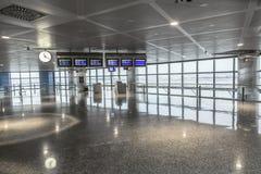 Hall de départ à Madrid Images libres de droits